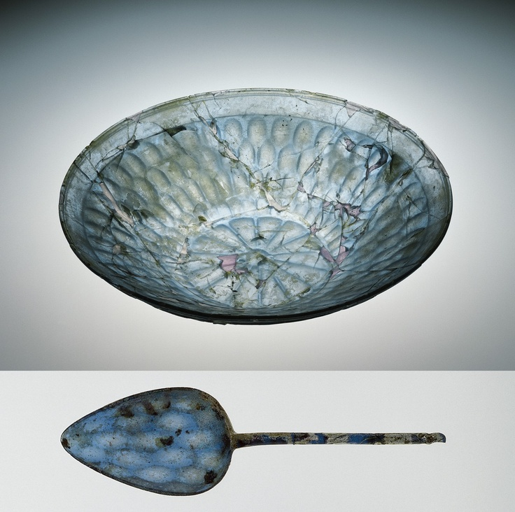 Roman Glass: Dish and Spoon, 75-125 | Corning Museum of Glass