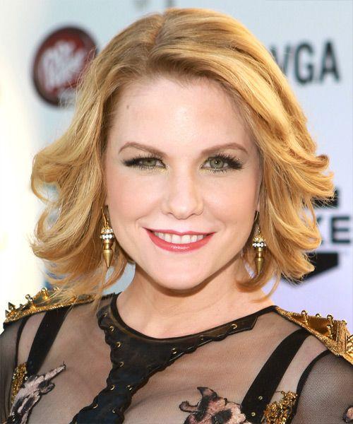 Carrie Keagan Hairstyle  last