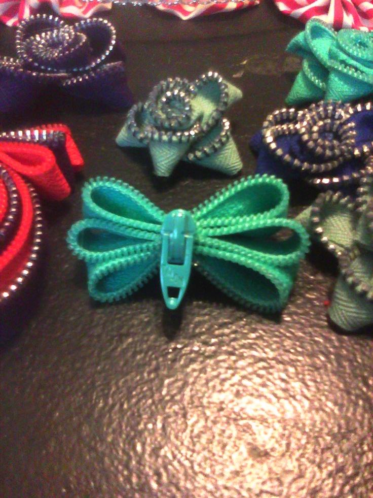zipper crafts!!