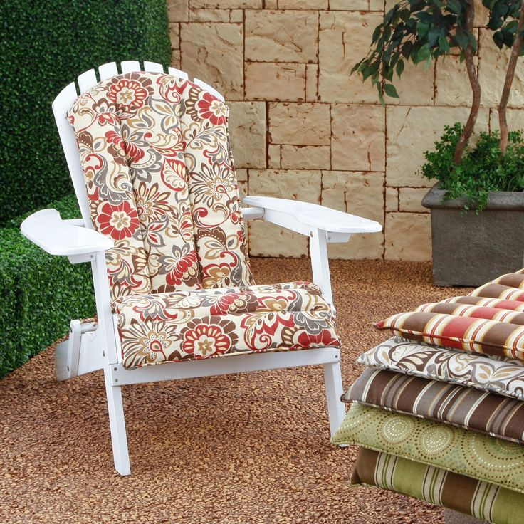 17 Ideas About Adirondack Chair Cushions On Pinterest