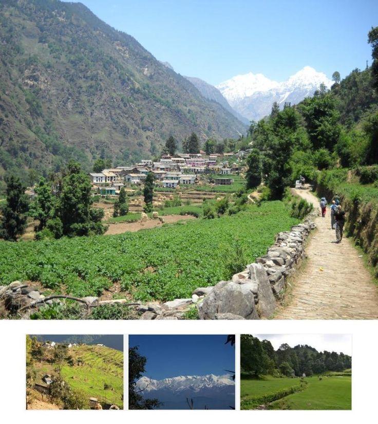 Kumaoun Village Trek – Uttrakhand  Trekking - Tours From Delhi - Custom made Private Guided Tours in India - http://toursfromdelhi.com/kumaoun-village-trekking-9n10d/