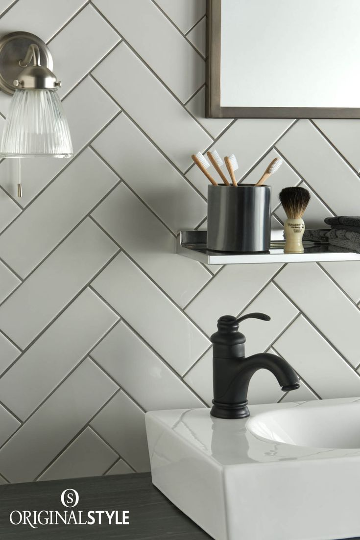 The tile shop design by kirsty georgian bathroom style - Herringbone Pattern Art And Architecture Art Deco Art Small Bathroom Bathroom Ideas Victorian Era Wall Tiles Arts And Crafts Art Nouveau