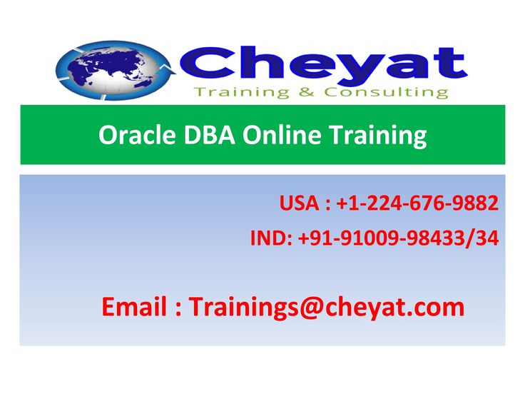 Oracle DBA is an evergreen technology in the market. As the usage of Oracle DBA is increasing day by day, the demand for experts is ever increasing. Cheyat offers the best up-to-date Oracle DBA online training through its seasoned trainers. Jump ahead in your career by joining Cheyat to get the latest version of Oracle DBA online training. Basic knowledge on SQL programming is sufficient for a learner to get started and become a master professional in Oracle DBA. We incorporate unique…