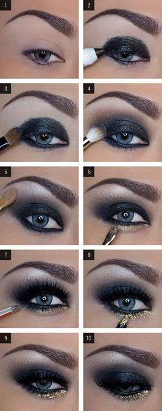 Comment faire Smokey Eyes dramatiques | Maquillage pour les Yeux bleus: