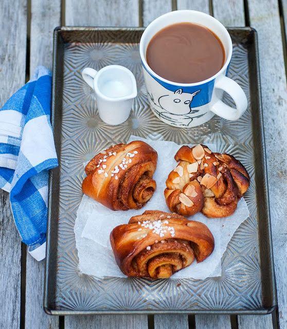 bakes: Kanelbullar - Swedish cinnamon rolls -if they are Swedish ...