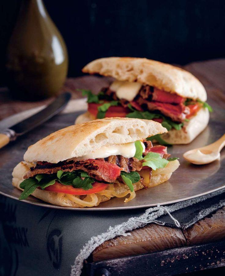 Aussie steak sandwich by Ben O'Donoghue from Ben's BBQ Bible | Cooked