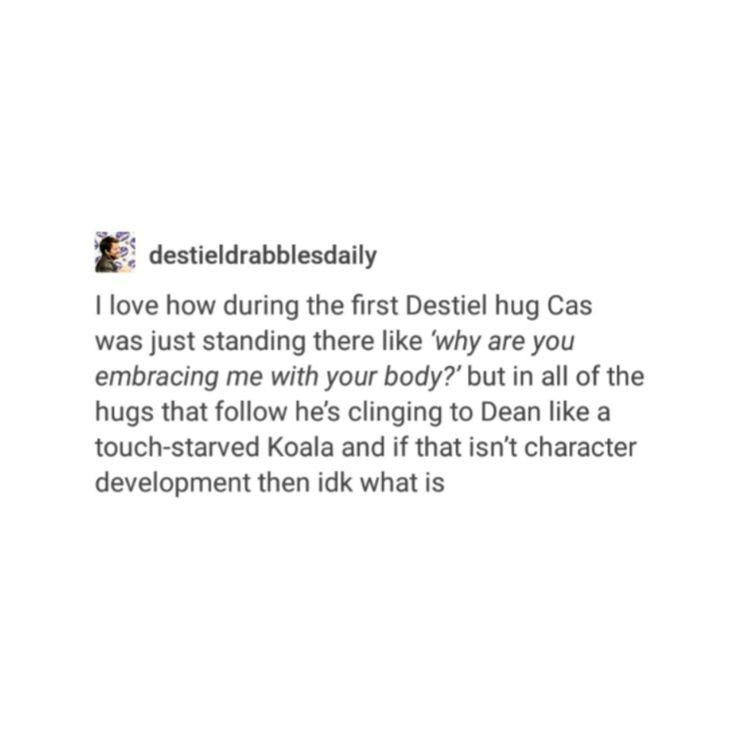 supernatural tumblr textpost destiel castiel season 12