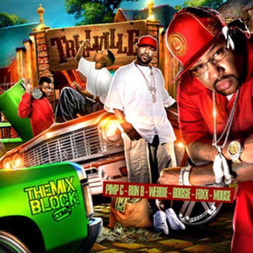 Trillville Pimp C Webbie Lil Boosie Foxx Mouse Bun B Cd Mixtape