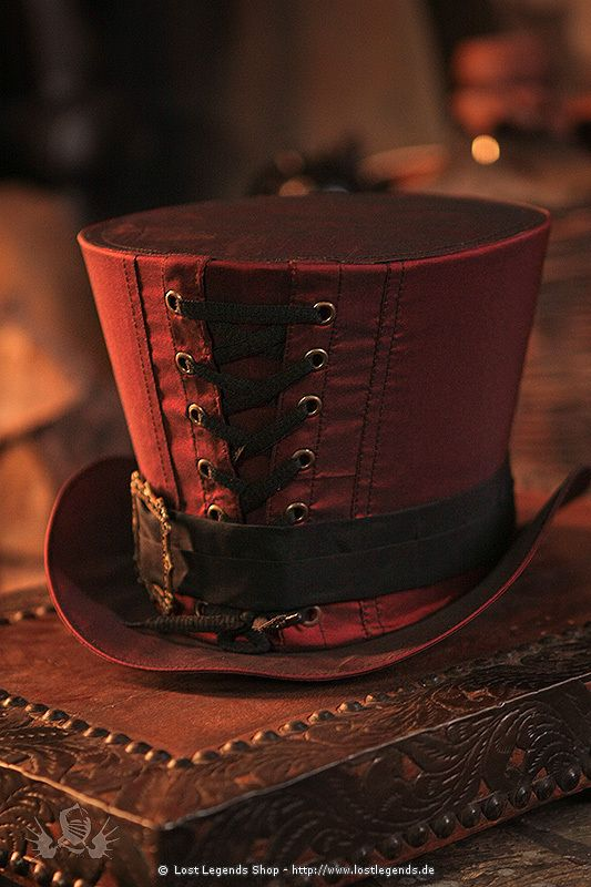 One day I will have enough money to afford to make my steam punk outfit and I will wear it everywhere I can. And this hat will be apart of that.