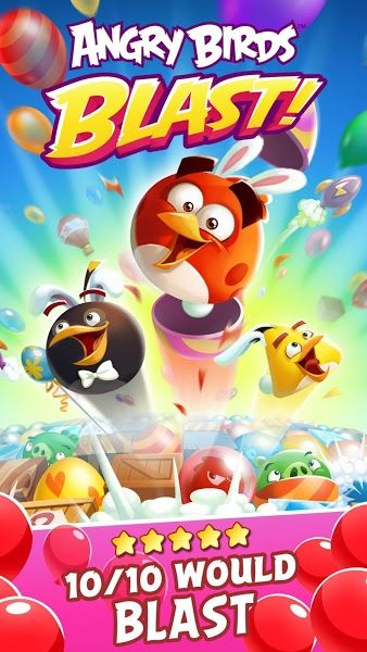 Angry Birds Blast v1.3.2 [Mod]Requirements: 4.1 and upOverview: Play an all-new Angry Birds tap-to-match game! The pigs have trapped the Angry Birds inside colorful balloons! Pop matching balloons to set the birds free and stop the pigs in this addicting puzzle-adventure.   	  	At It...