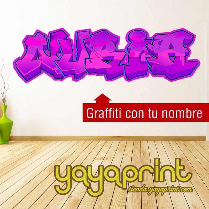 200 best images about vinilos pared decoraci n yayaprint - Vinilos con nombre ...
