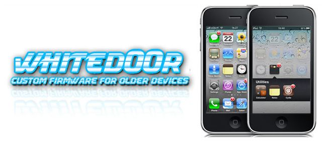 whited00r is a custom firmware for old device and provides support for iPhone 2G, iPhone 3G, iPod Touch 1G and iPod Touch 2G. whited00r allows to install, jailbreak and unlock a pseudo- iOS5 on your iPhone 2G/3G and iPod Touch 1G/2G.