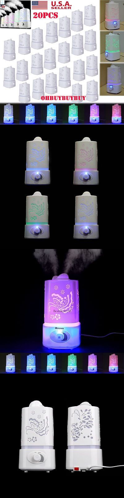 Humidifiers 71240: Lot 20 1.5L Ultrasonic Aroma Humidifier Air Diffuser Purifier Lonizer Atomizer V -> BUY IT NOW ONLY: $65.95 on eBay!