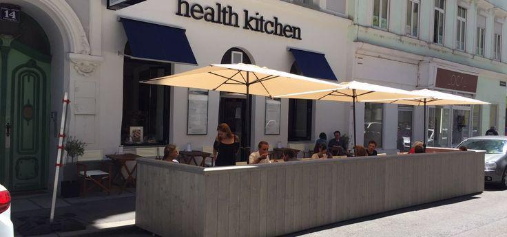 Health Kitchen - der Gastgarten