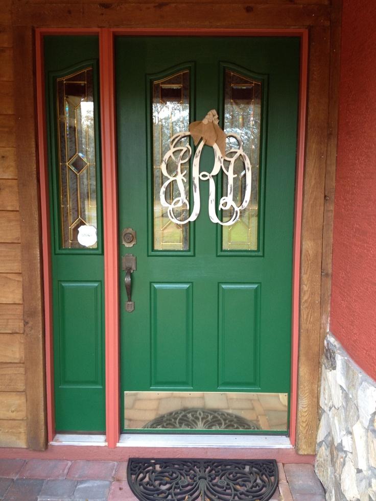 Newly painted front door!Decor Ideas, Doors Ideas, Crafts Ideas, Painting Front Doors, Doors Crafts, Painting Ideas, Craft Ideas, Newly Painting