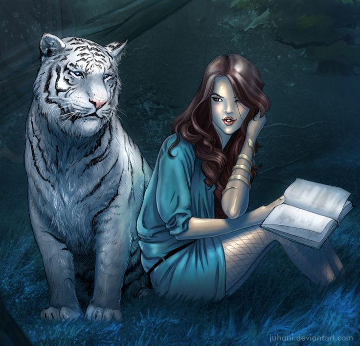 Tiger and Kelsey by ~Juhani