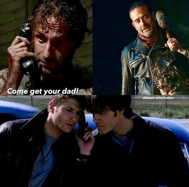 Omg sam:let me talk to him. Dean:let me on the phone we just need to talk to him. Rick:he's about to smash my brothers fucking head in hurry up