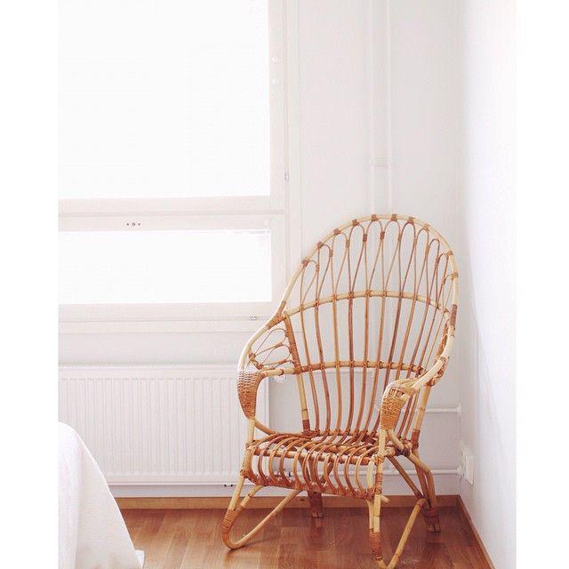 """classical meets modern style #parolanrottinki #retro #lumikenkä #lumikenkätuoli #rottinki #rottinkituoli #nojatuoli #rattan #armchair #rottingstol #rotting #fåtölj #60tal #natural #material #wooden #puu #skandinaviskehjem #finnishdesign #skandinaavinen #koti #sisustus #interiordesign #interiør #interiorinspiration #interior4all #miadesign #home4inspo #dagensinterior"" Photo taken by @miadesignfi on Instagram, pinned via the InstaPin iOS App! http://www.instapinapp.com (06/28/2015)"