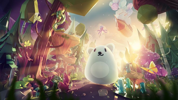 The forest creature on Behance