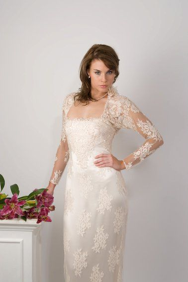 Stunning lace sheath dress http://www.arcarocouture.com.au/