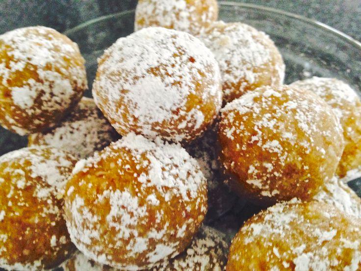 Marzipan Snowballs