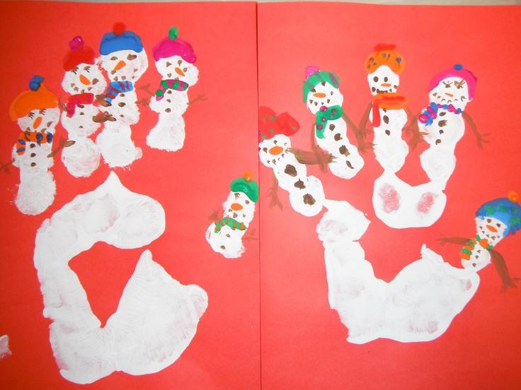 Snowmen and women