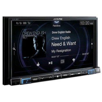"Pantalla Alpine ILX-207 7"" 50w Bluetooth/USB/AUX/Radio AM-FM"