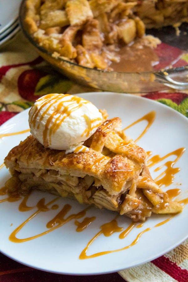 The Best Homemade Apple Pie Recipe Homemade Caramel Sauce