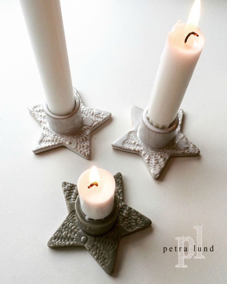 Ljusstake STAR via Petra Lunds Lera. Click on the image to see more!