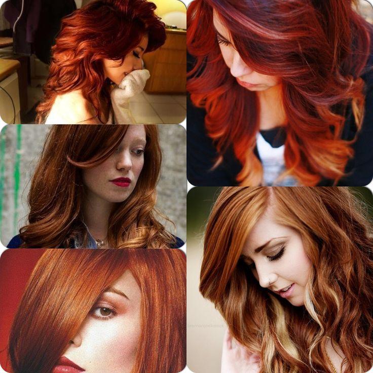 auburn hair with blonde highlights inspiration - Auburn Hair Color With Blonde Highlights