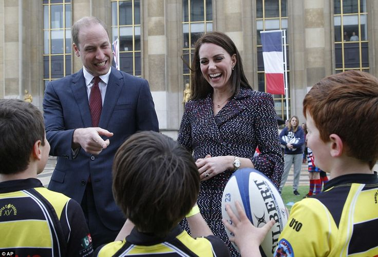 The Duke and Duchess of Cambridge are today going about their planned schedule in Paris despite a shooting at the city's Orly airport. The couple will be flying back to the UK early this evening by private jet.