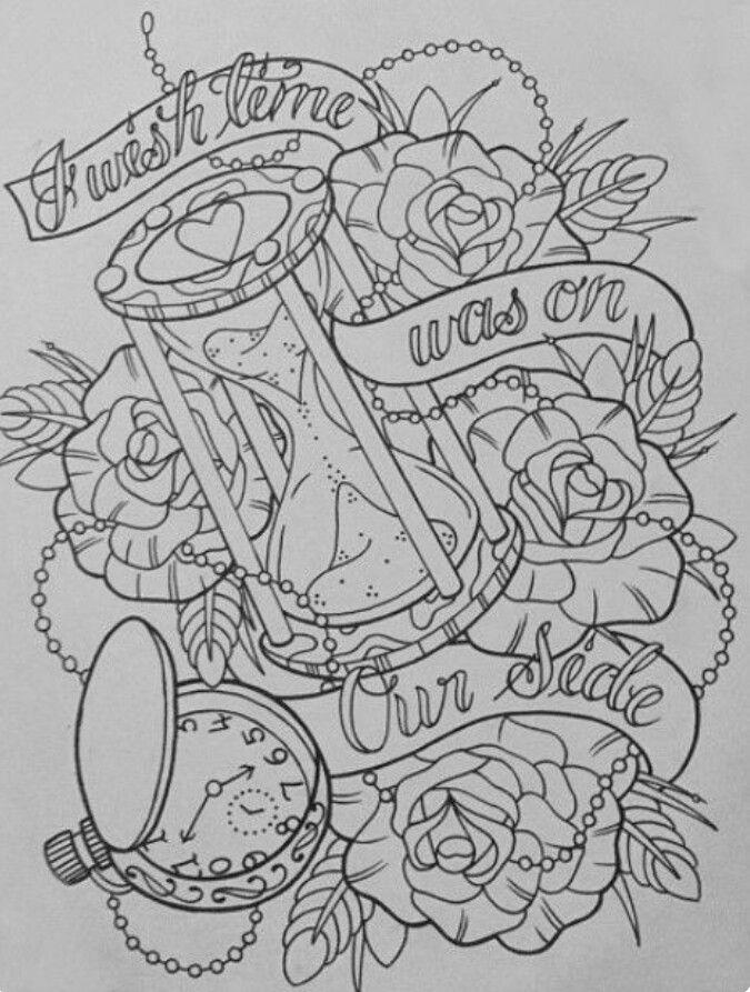 Hourglass tattoo vorlage  62 besten Tattoo Ideen Bilder auf Pinterest | Tattoo-Designs ...