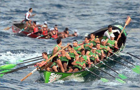 Estropadak- Basque rowing trails