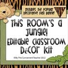 194 Best Images About Jungle Themed Classroom On Pinterest
