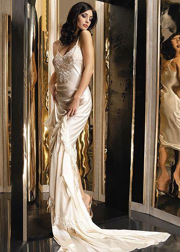 Long Silk Nightgowns For Women 4591713842 A24486527b Z