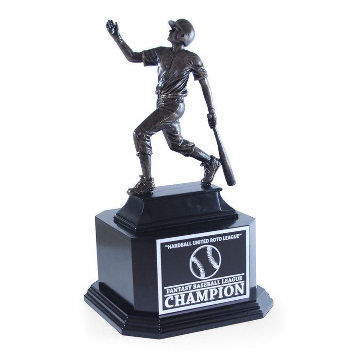 Fantasy Baseball Trophy - Action Sport