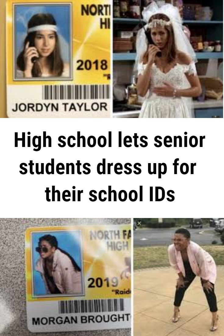 This High School Lets Seniors Dress Up For Their Student Ids And The Outcome Is Hilarious Weird Facts Just Amazing Funny Pictures