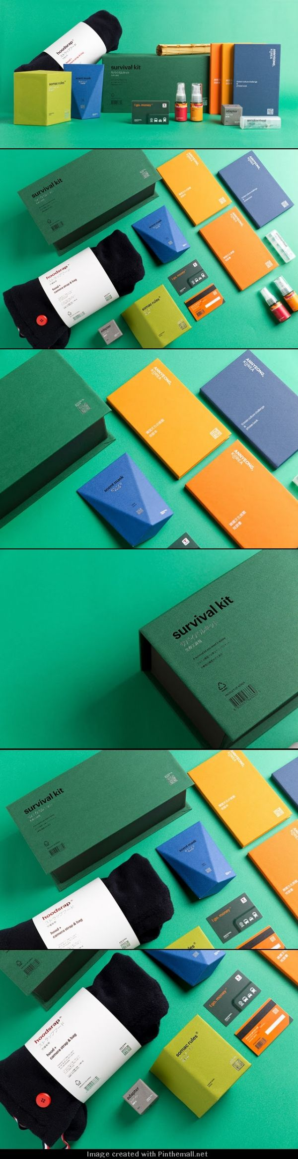 I love the colour palette and simple type used for this branding