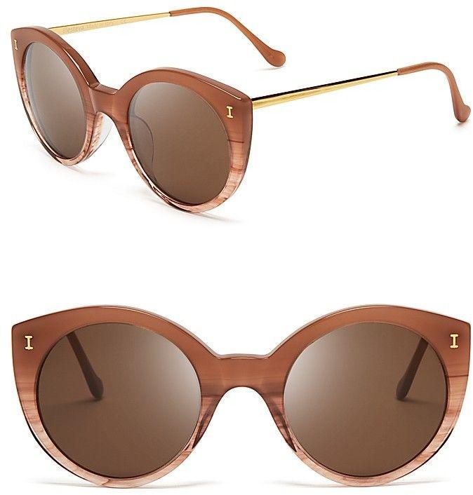 Illesteva Palm Beach Sunglasses, 49mm - $240.00