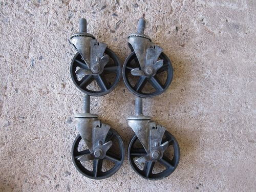 vintage caster wheels for furniture 3