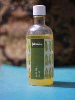 Fabindia Sesame hair oil reviews
