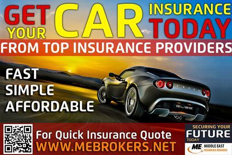 The best affordable Car Insurance and Health Insurance in UAE. We have all the Insurance options you can find, so don't waste your time and money let us help you choose the best. Visit us http://www.mebrokers.net/ Middle East Insurance Brokers, Providing the best insurance services for almost 20 years. We are specialized in all type of Insurance services specially Motor Insurance and Health Insurance.