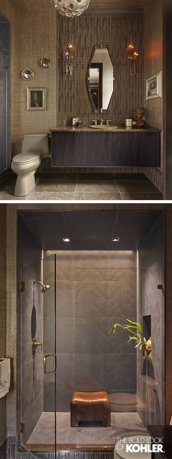 1136 best bath design images on pinterest room bathroom ideas an earthy color palette for a guest bath earthy color palettebathroom designsbathroom ideasguest bathremodeling ideascolor