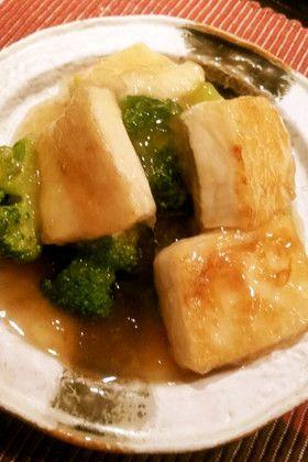 簡単!ブロッコリーと豆腐でメイン!中華餡