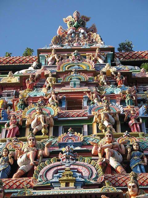 COLORIDAS MARAVILLAS URBANAS | Chidambaram Temple, Tamil Nadu, India (Fuente: MessyNessy)