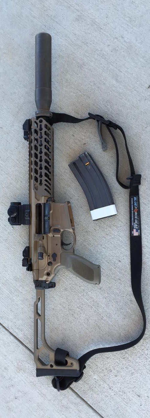 Sig MCX with BlueForce sling posted by Larry Vickers