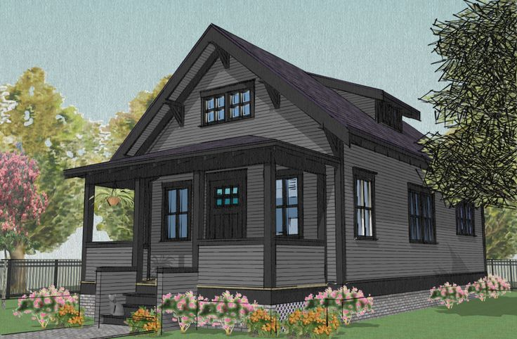 New 1.5 Story House Plans with Walkout Basement