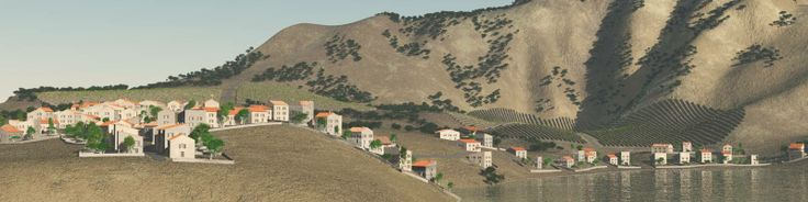 Procedural Generation of Villages on Arbitrary Terrains
