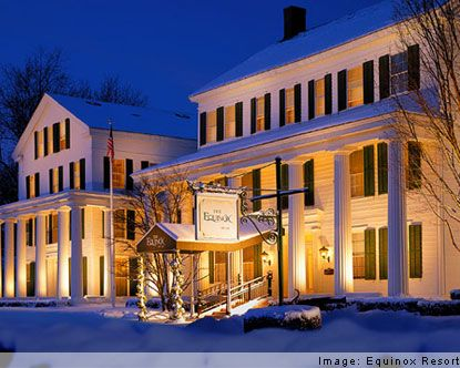 The most famous Manchester hotel is the Equinox, founded in 1853 by Francis Orvis. Manchester Vermont is known for its historic inns. The town has been a tourist destination since the mid-19th century, when Manchester Vermont hotels attracted wealthy city-dwellers fleeing urban centers for the clean country air. Today, Manchester Vermont hotels continue to attract visitors looking for a tranquil escape from modern life.