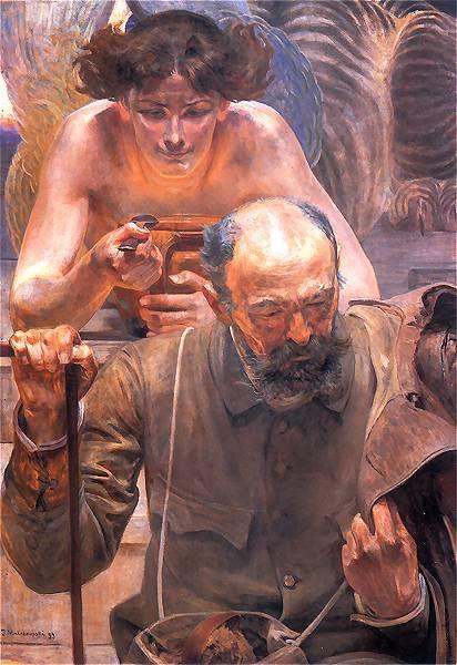 'Finis Poloniae' - Jacek Malczewski (1854-1929)